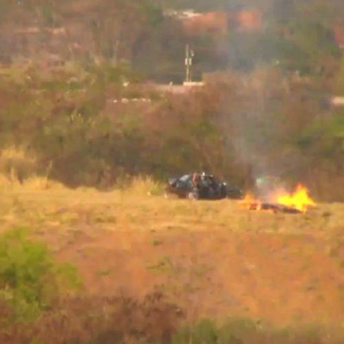 REGIÃO: Polícia investiga casal flagrado colocando fogo em mata
