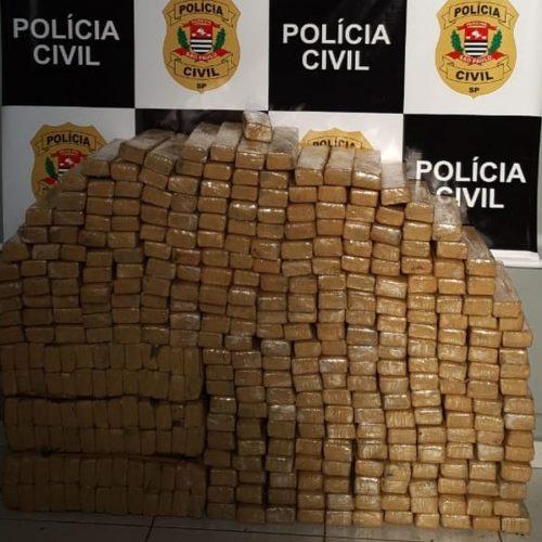REGIÃO: Homem é preso com 400 kg de maconha dentro de casa
