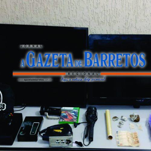 BARRETOS: Força Tática prende dois e recupera produtos furtados