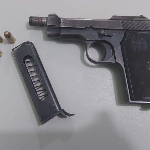 BARRETOS: Ajudante geral é preso por porte ilegal de arma de fogo no bairro Dom Bosco