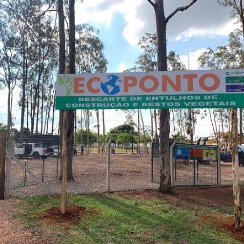 BARRETOS: Novo Ecoponto entra em funcionamento no Bairro Zequinha Amêndola