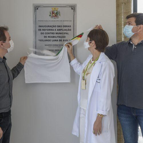BARRETOS: Inauguradas as obras de ampliação do Centro Municipal de Reabilitação