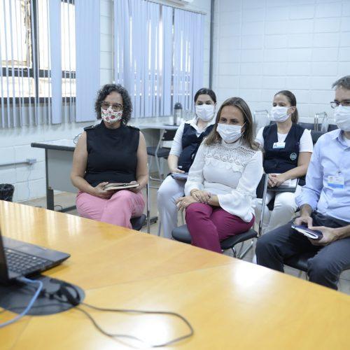 BARRETOS: Prefeita Paula Lemos participa de reunião por videoconferência com representantes da FATEC