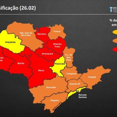 Governo de SP deve anunciar nesta quarta mais regiões do estado na fase vermelha, após recorde de mortes e internados
