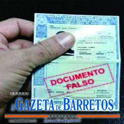 BARRETOS: Homem é preso ao tentar revalidar Habilitação falsa