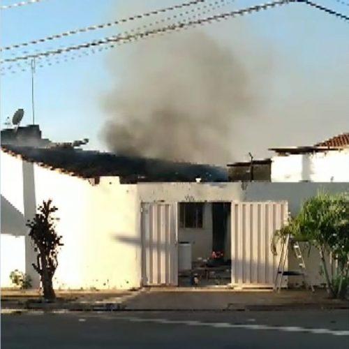 REGIÃO: Grávida de sete meses e três crianças são salvas de incêndio por vizinho