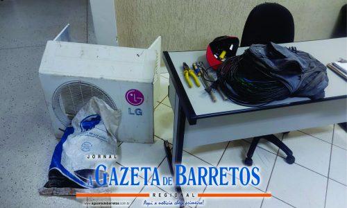 BARRETOS: Força Tática prende autor de furtos no bairro Zequinha Amêndola(BTOS 2)