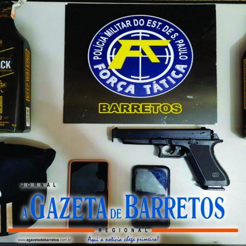 BARRETOS: Tático Comando apreende menores que praticaram roubo em loja de bebidas