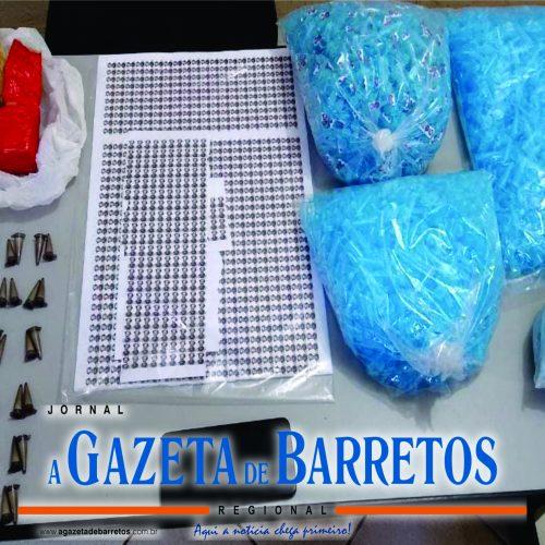 BARRETOS: Desempregado é preso por tráfico no Barretos II