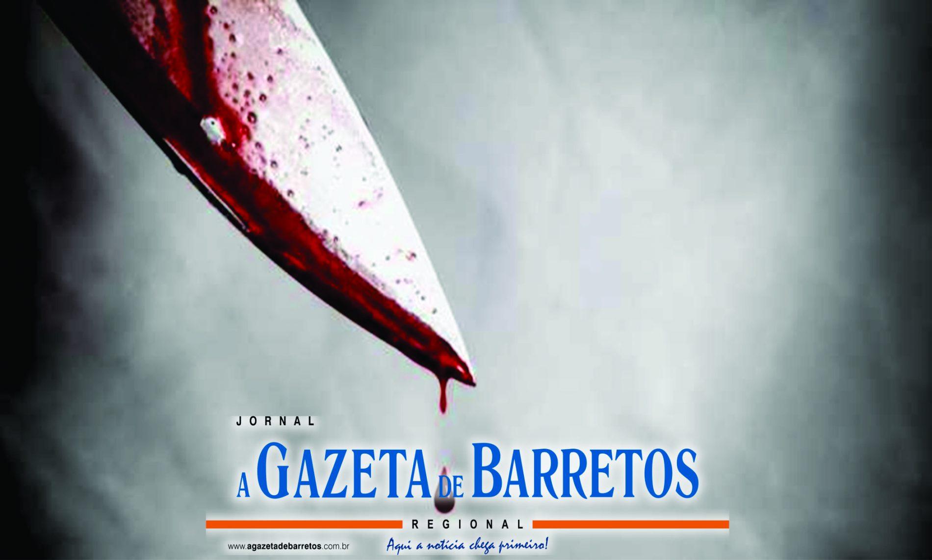 BARRETOS: Filho tenta matar o pai a facadas no bairro Henriqueta