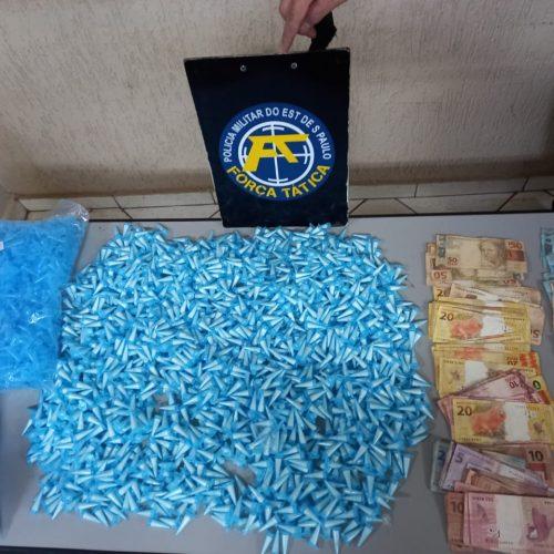 Guaíra: Rapazes são detidos com dinheiro e maconha após tentarem fuga