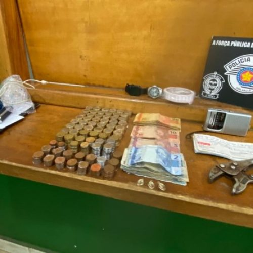 REGIÃO: Homem é preso por tentativa de furto em loja de brinquedos