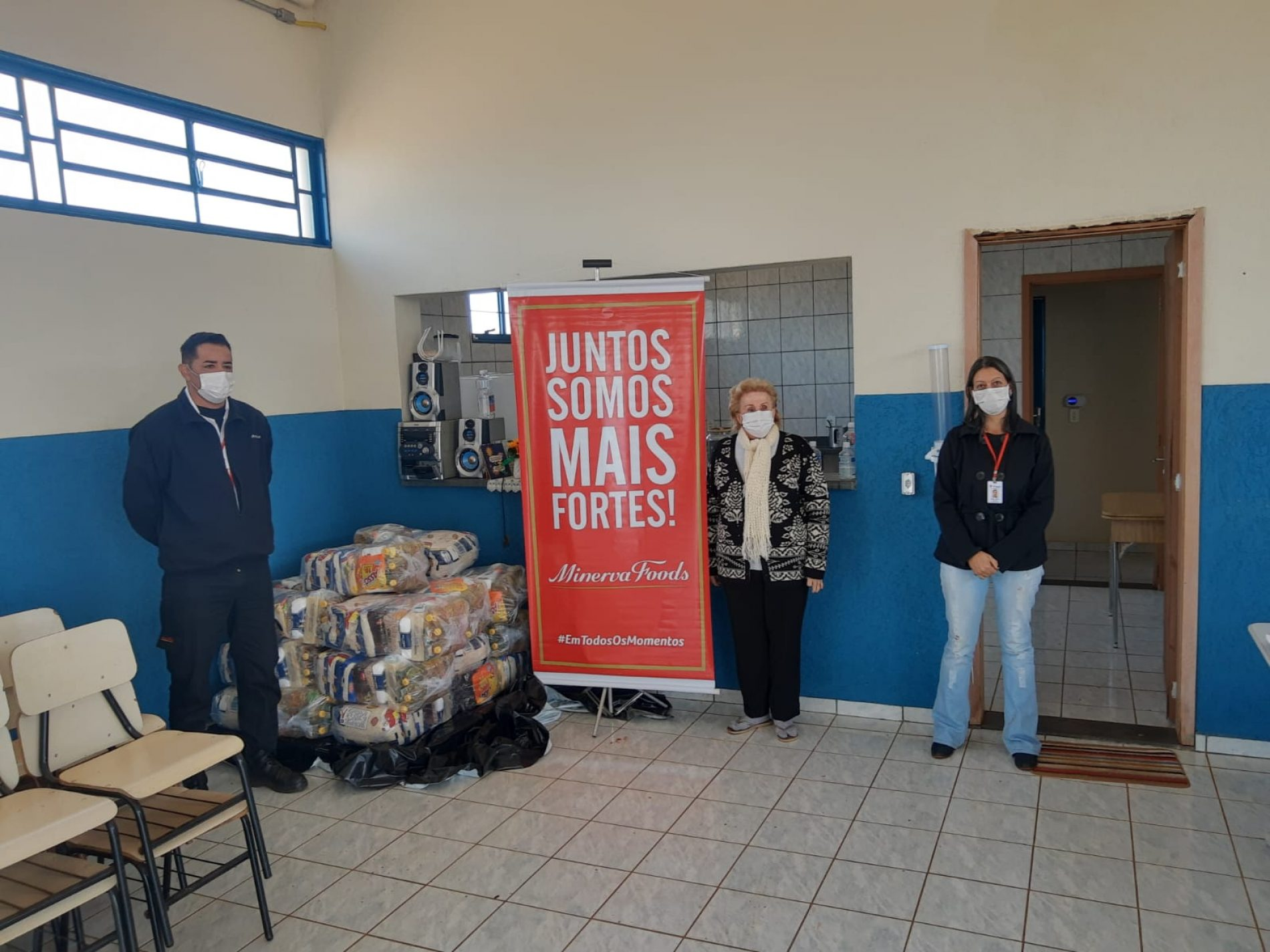BARRETOS: Minerva Foods ajuda famílias através do Instituto O Amor