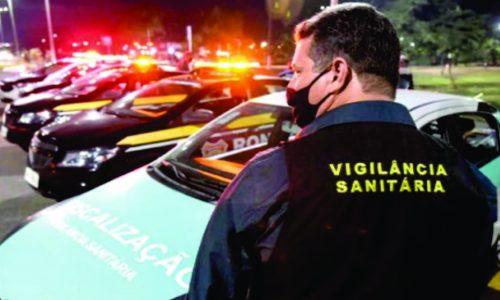 BARRETOS: Viatura da Vigilância Sanitária é atingida por dois tiros na Via Conselheiro Antônio Prado