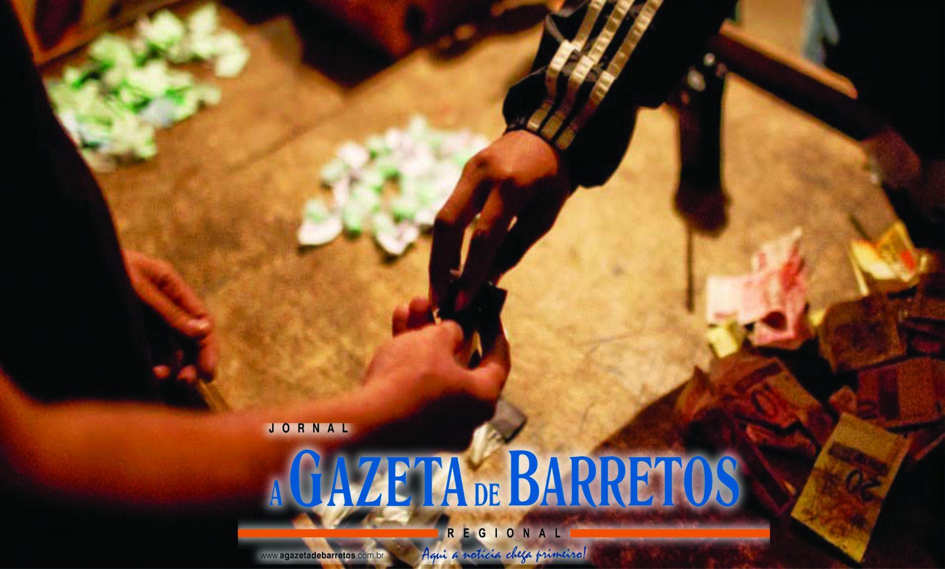 BARRETOS: Estudante é preso com maconha, cocaína e dinheiro no bairro Zequinha Amêndola