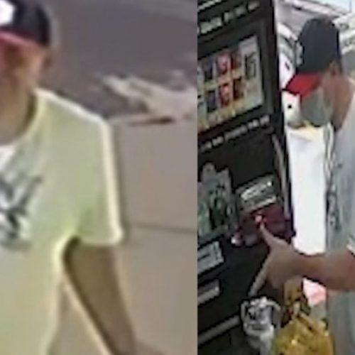 REGIÃO: Ladrão rouba duas lojas em menos de meia hora